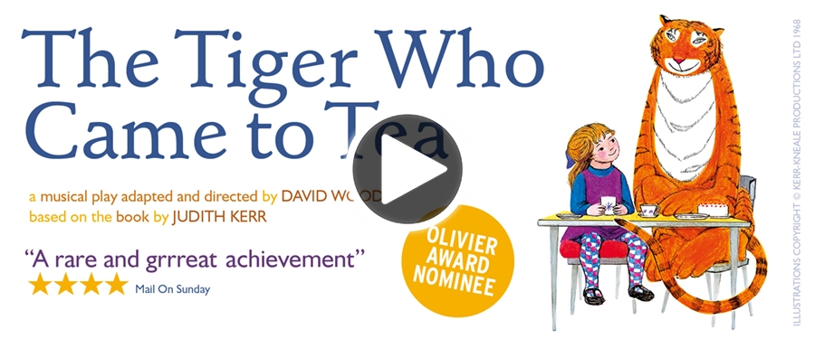 Play video for The Tiger Who Came To Tea