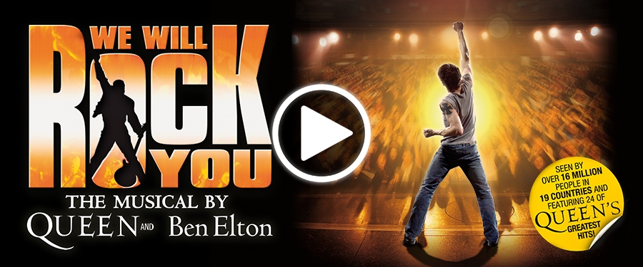 Play video for We Will Rock You