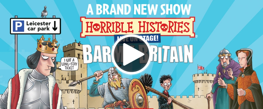 Play video for Horrible Histories - Brand New Barmy Britain