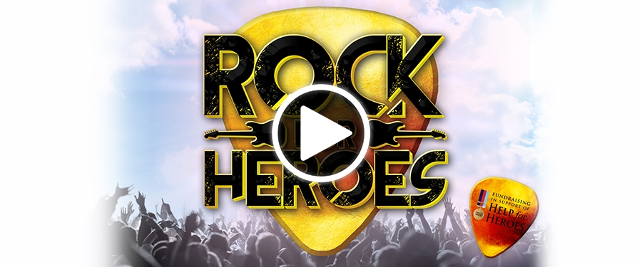 Play video for Rock For Heroes