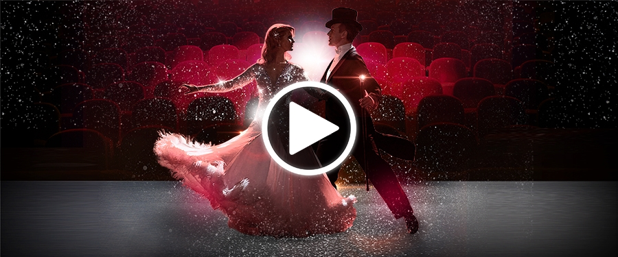 Play video for Anton & Erin Dance Those Magical Movies
