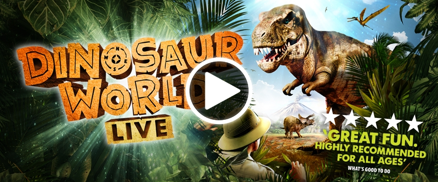 Play video for Dinosaur World Live