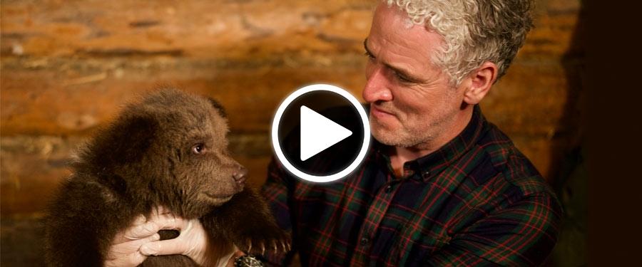 Play video for Gordon Buchanan Animal Families and Me