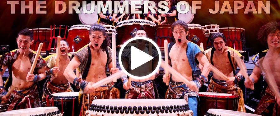 Play video for Yamato: The Drummers of Japan