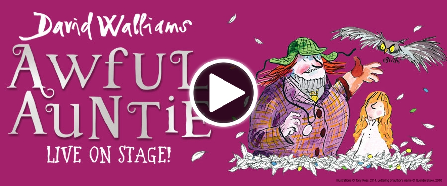 Play video for David Walliams Awful Auntie