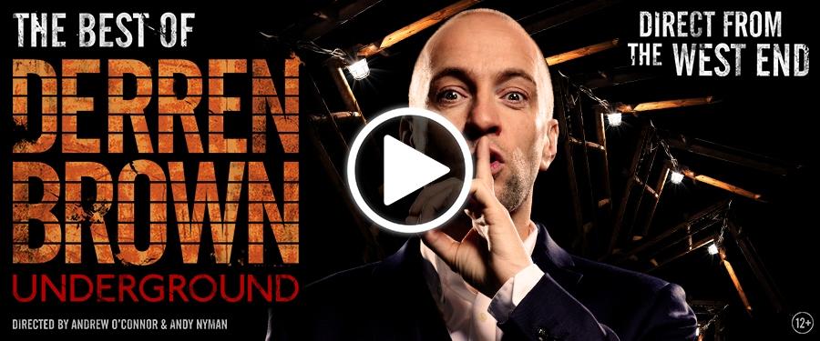 Play video for ST: The Best of Derren Brown: Underground