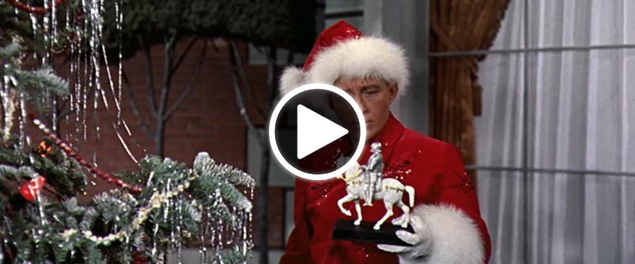 play video for st white christmas - White Christmas Play