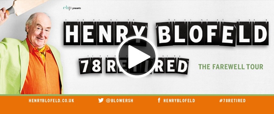 Play video for Henry Blofeld