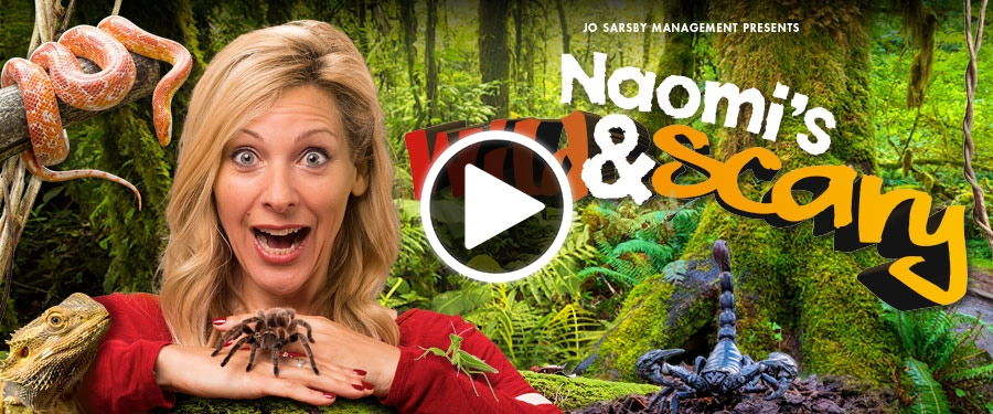 Play video for Naomi's Wild & Scary